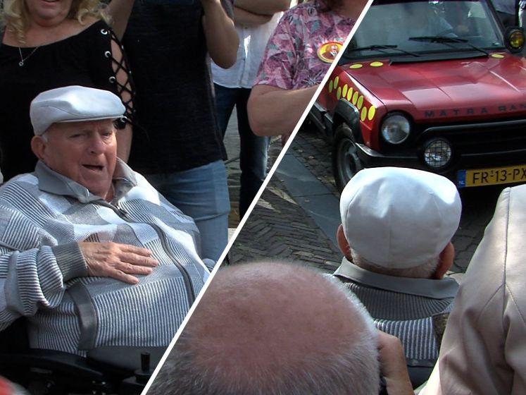 Schitterend: Vlaardingen loopt uit voor 86ste verjaardag clown Bassie