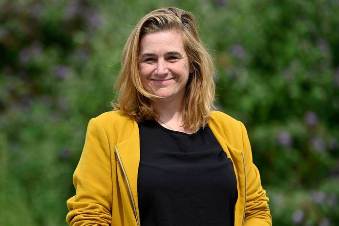 Elke Van den Brandt, ministre bruxelloise de la Mobilité (Groen).