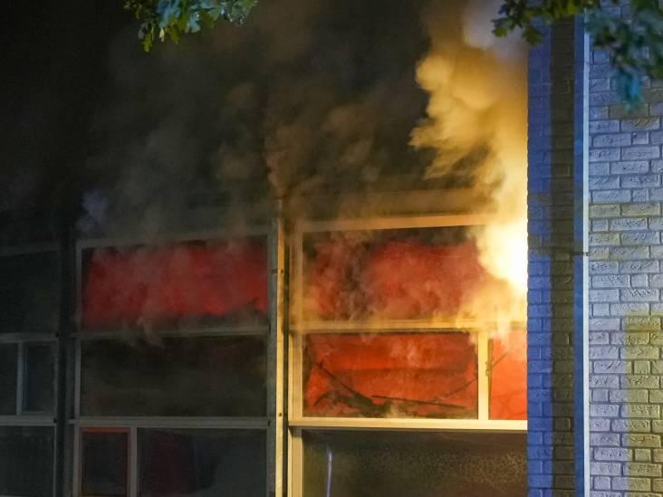 Brand zorgt voor fikse schade in basisschool John F. Kennedy in Oss