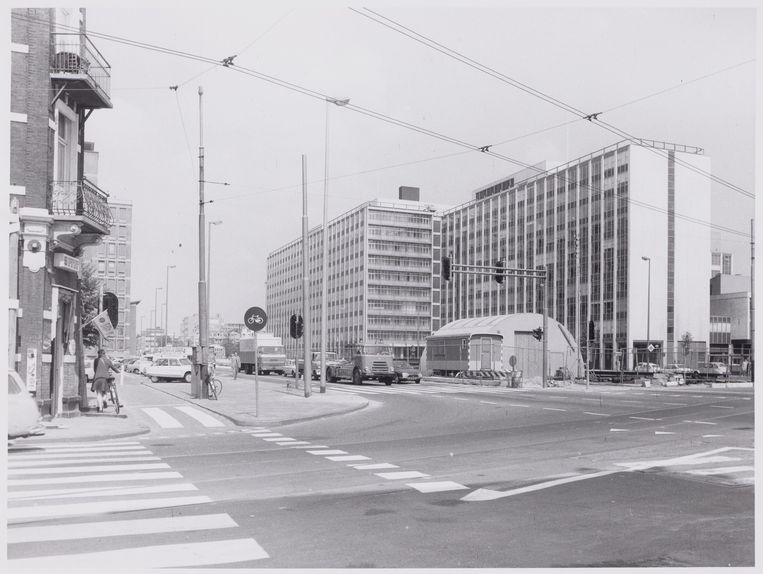 Het Wibauthuis in 1972, nog in volle glorie. Beeld Stadsarchief Amsterdam