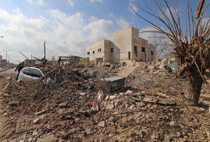 Bij de aanval werd ook een ziekenhuis vernield.