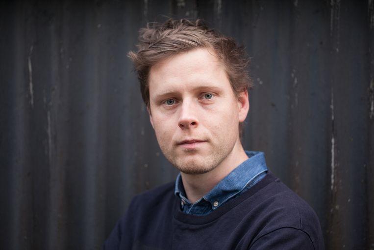 Max Porter is een van de schrijvers die live optreden in Utrecht. Beeld Lucy Dickens