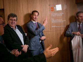 Premier Alexander De Croo opent vernieuwde zetel Kamer van Koophandel Waasland
