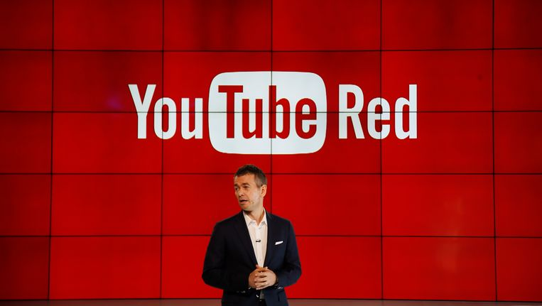 Robert Kyncl, chief business officer van YouTube. Beeld AP