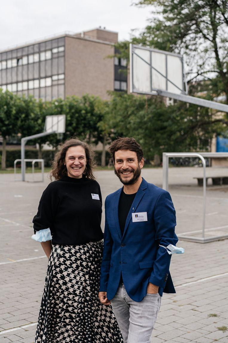 Directeurs Bob Podevijn en Sophie Andres. Beeld Wouter Van Vooren