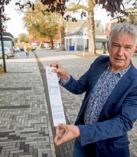 Na juridische strijd van een jaar is de parkeerboete van Herbert uit Buurse geseponeerd