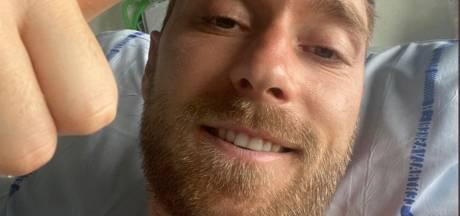 EK-sterren steunen Eriksen met persoonlijke boodschap in video