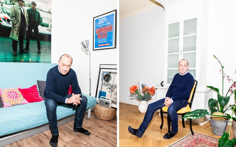 Peter Römer: 'Schrijven is wat ik altijd heb willen doen. Er waren periodes dat ik niet schreef en alleen maar moest managen, en daar werd ik letterlijk ziek van.' Beeld Hilde Harshagen