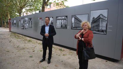 Expo 'De Duitse Negatieven van Leuven' in stadspark