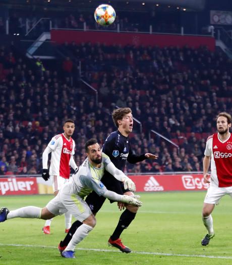 Scheidsrechtersbaas Van Egmond: Heerenveen had een penalty moeten krijgen
