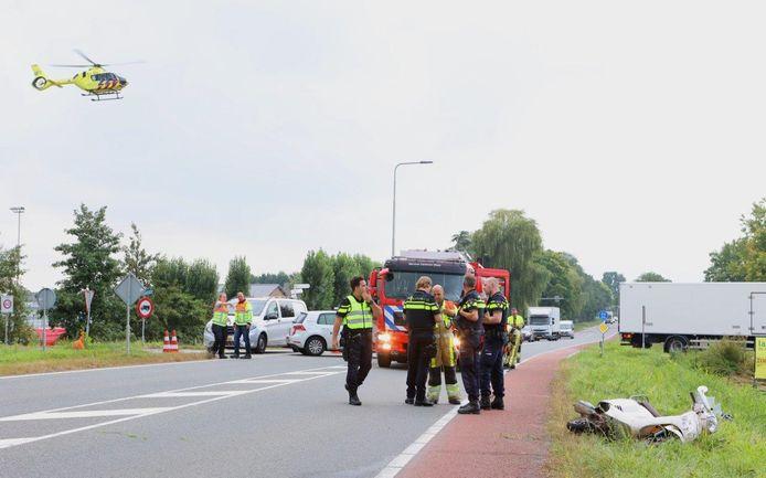 Ongeval Provincialeweg Kerkdriel.