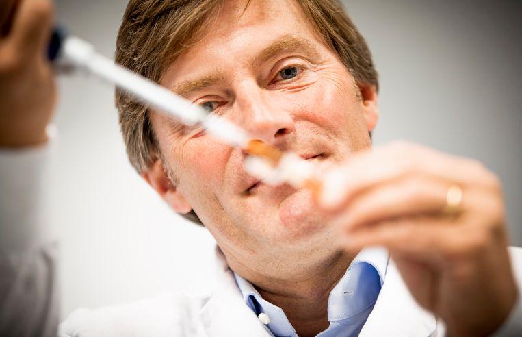 Aarnoud Overkamp:  'De gedragscode moet een 'moreel kompas' worden, 'maar daarvoor moet je het wel eerst eens worden over de coördinaten'.  Beeld Freek van den Bergh