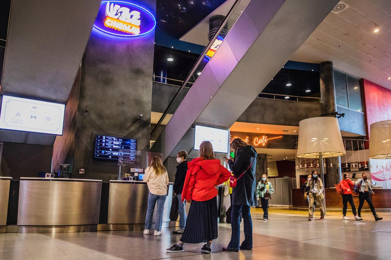 In de UGC-cinema van Antwerpen is het niet meteen een overrompeling. 'Ik werk hier al 20 jaar, maar dit heb ik nog nooit meegemaakt.' Beeld E Xt-ageurts