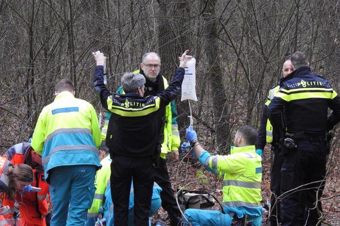 Een motorcrosser (59) uit Luyksgestel is verongelukt in het bosgebied van Valkenswaard.