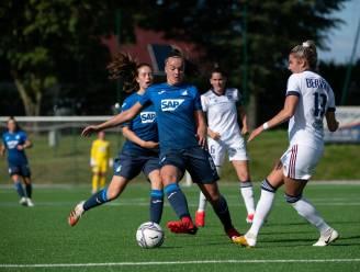 Twee goals en een assist: Tine De Caigny aan het kanon voor Hoffenheim in de Champions League