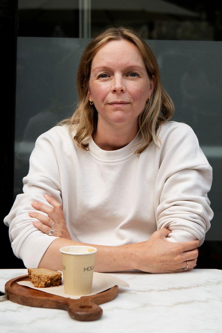 Sarah van Leijden (34), hr-adviseur. 'Kaag wekte een bepaald vertrouwen op.' Beeld Olaf Kraak
