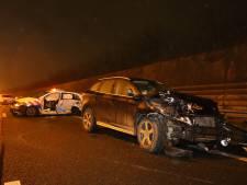 Celstraf voor dronken vrouw die op A2 bij Zaltbommel agenten aanreed