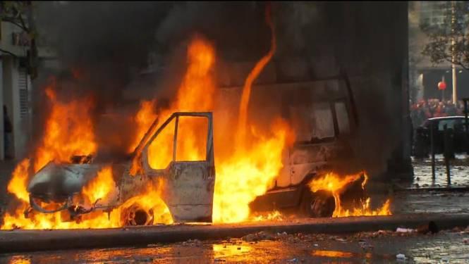 Betoging in Brussel mondt uit in rellen