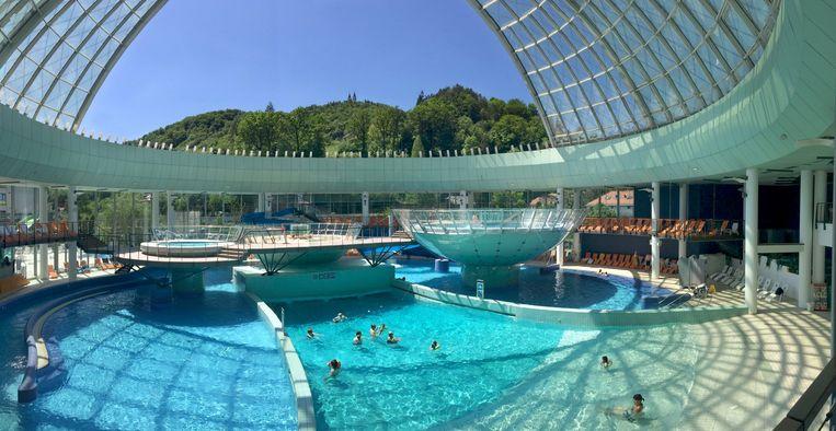 Het Thermano Lasko Resort. Beeld Myriam Thys