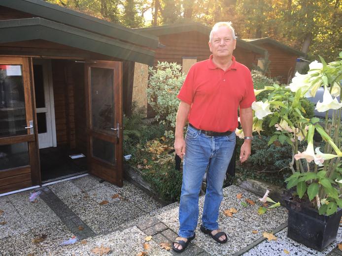 Eigenaar Alwie Bulters van Sauna Nijverdal wil de bedrijfsgebouwen laten slopen om op het terrein plaats te maken voor twee  vrijstaande woningen.