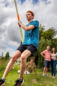 Corona dreigde Amerikaanse droom van sporter Peter (18) uit Houten in duigen te gooien, maar hij gaat tóch