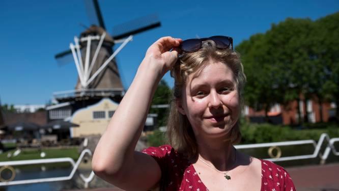 Joëlle (22) wil graag meepraten over windmolens: als het aan haar ligt komen ze er wél