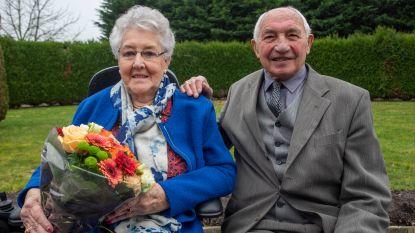 Marcel en Hilda vieren diamanten bruiloft