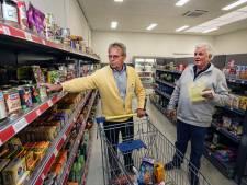 Dág vooringepakte voedselkratten: klanten van de voedselbank Zeist shoppen vanaf nu gewoon zelf