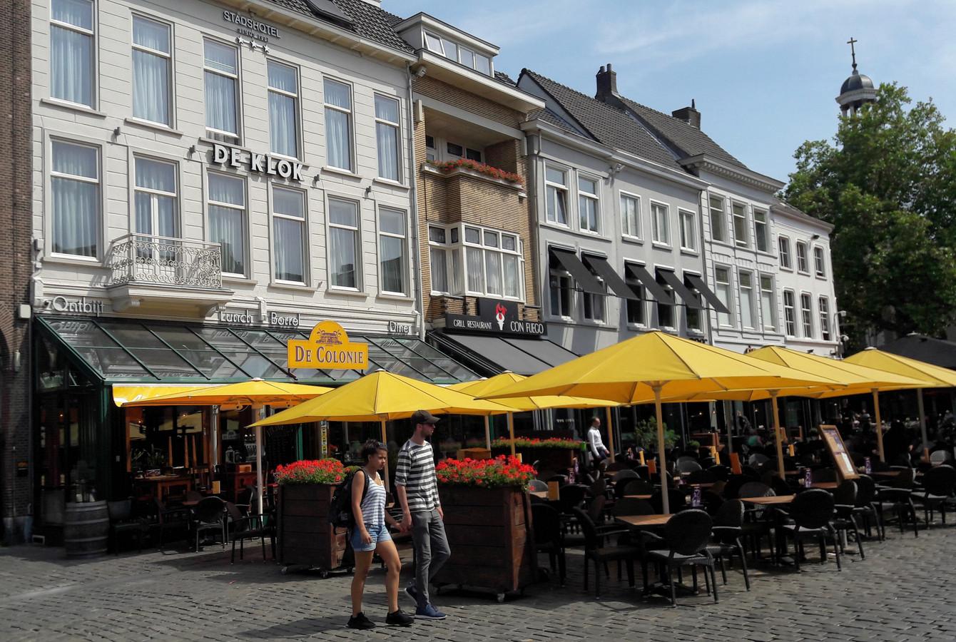 Restaurant De Colonie op de Grote Markt in Breda.