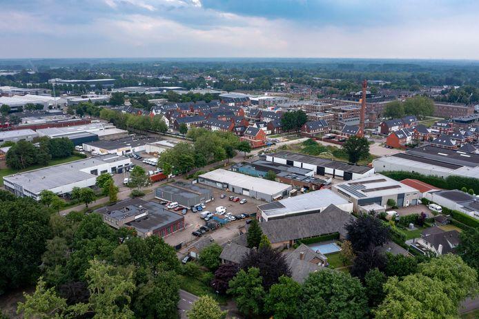 Bedrijventerrein Kerkhoven, aan de rand van het KVL-terrein, wordt in Oisterwijk omgevormd tot woonwijk, die aansluit op KVL-Dorp.