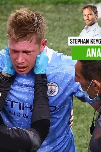 """Onze chef voetbal zag het drama van Kevin De Bruyne vanop de eerste rij, maar predikt positivisme: """"Everything is gonna be alright"""""""