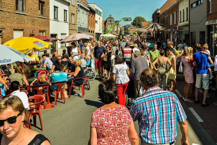 De Gapersfeesten lokken in juli altijd een massa volk naar Geluwe.
