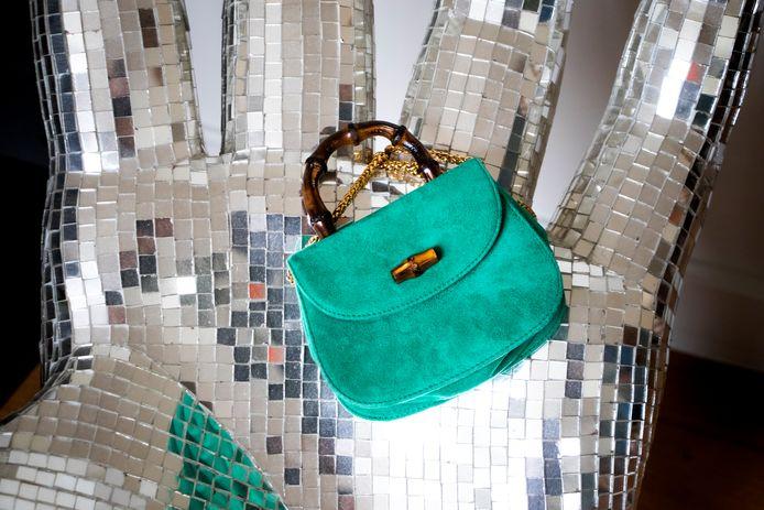 Deze kleine Bamboo Bag is een van de eerste stukken die Birgit verkocht met Labellov.
