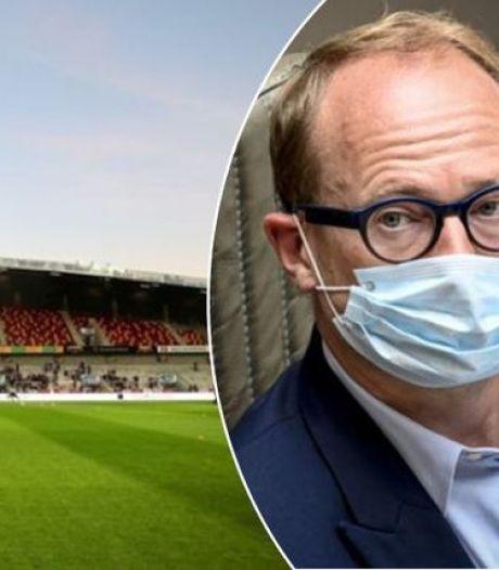 La province d'Anvers peut accueillir des matches de Pro League