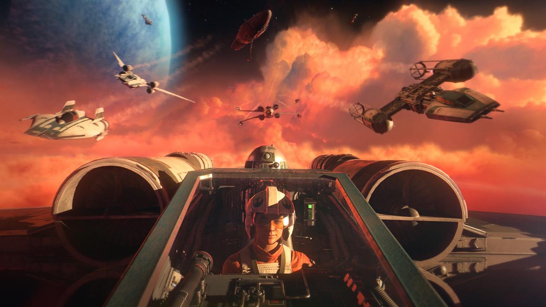 Op naar de volgende ruimteslag in een sterrenstelsel hier ver, héél ver vandaan. Beeld EA