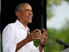 Obama haalt uit: Trump verknoeide coronabeleid totaal