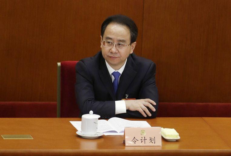De van corruptie beschuldigde politicus Ling Jihua Beeld reuters