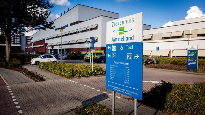 Een exterieur van ziekenhuis Amstelland.