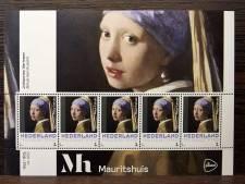 Vermeers Meisje met de parel op postzegels