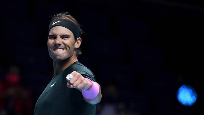 Nadal élimine le tenant du titre Tsitsipas et rejoint les demi-finales du Masters