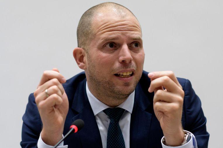 Op 9 februari keurde de Kamer een nieuwe vreemdelingenwet goed, ingediend Theo Francken (N-VA). Beeld photo_news