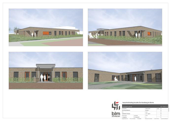 Het nieuwe woonzorgcomplex De Hooiberg.