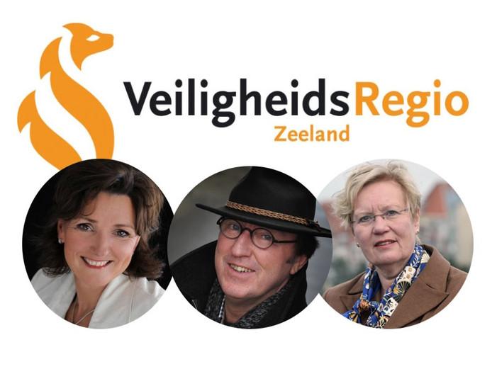 V.l.n.r.: Gerrie Ruijs, Jan Lonink en Letty Demmers