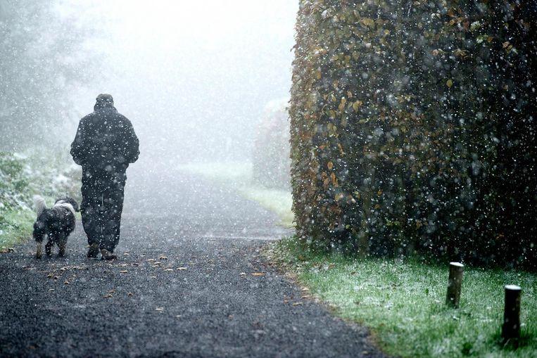 Bijna 1,5 miljoen Nederlanders hebben last van winterdepressie of de mildere vorm, de 'winterblues'. Beeld ANP