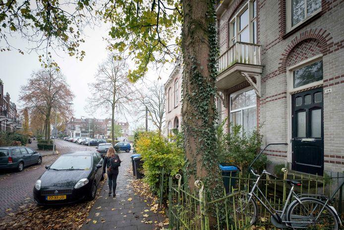 Het ouderlijk huis van actrice Hetty Blok aan de Sint Peterlaan 84.