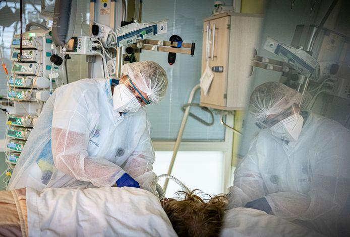 De intensive care in ziekenhuis Bernhoven.