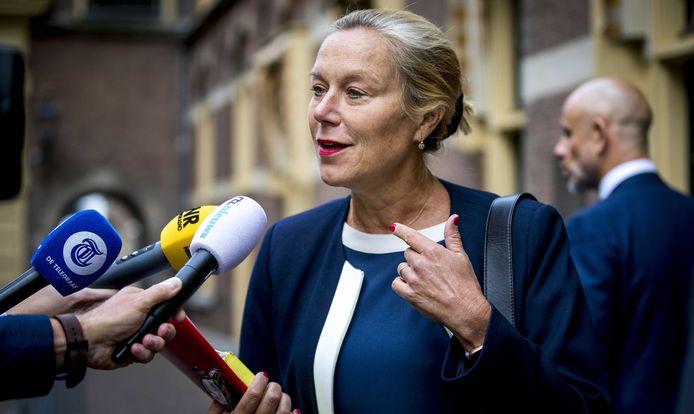 Minister Sigrid Kaag voor Buitenlandse Handel en Ontwikkelingssamenwerking.