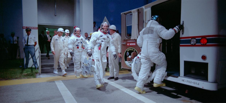 Still uit de documentaire Apollo 11. Beeld