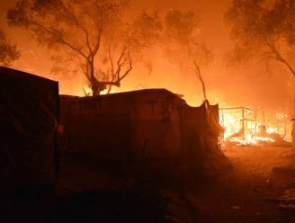 Vier Afghanen veroordeeld tot tien jaar cel wegens brandstichting in vluchtelingenkamp Moria