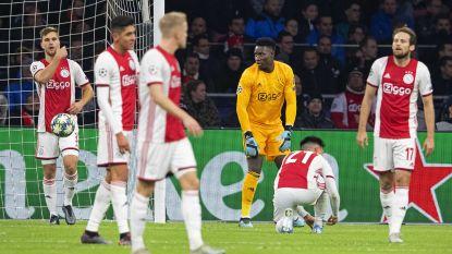 Drama in Amsterdam: Ajax ligt uit de Champions League na ellendige avond
